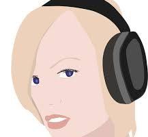 Women wearing headphones to block out unpleasant noise.