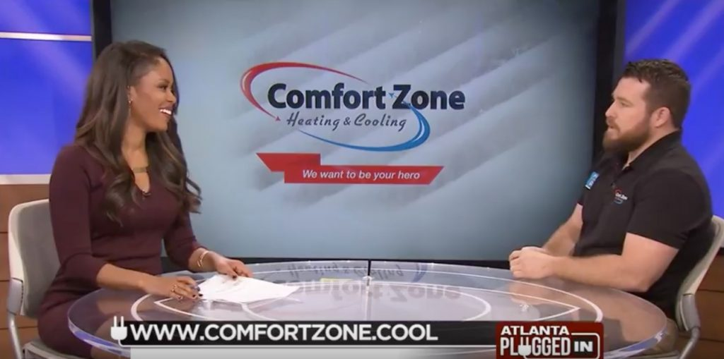 Comfort Zone Heating & Cooling Shares Info Homeowners Need to Know on Atlanta Plugged In