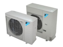 The Daikin Fit heat pump is a single system that replaces separate heating and cooling systems.